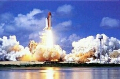KSC Space Shuttle launch.