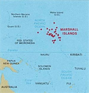 Marshall Islands News And Links QuickNews - Marshall islands map