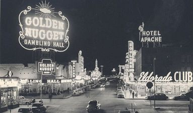The Golden Nugget in downtown Las Vegas in the 1948...... click for the UNLV Center for Gaming Research photo archive