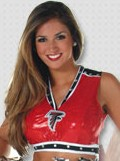 2006 Atlanta Falcons Cheerleader 'Carey'