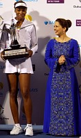Venus with Princess Haya Bint al-Hussein, Jordanian wife of Dubai ruler Sheikh Mohammed bin Rashed al-Maktoum... click for news photo search