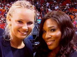 click for larger photo posted by Serena Williams