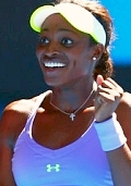 click for Sloane Stephens news photo search