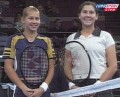 Anna with Monica Seles