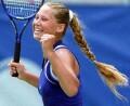Anna after defeating Jennifer Capriati