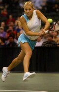 Anna vs Monica Seles on Saturday, Dec. 14, 2002-- click for CNN match story.
