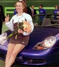 Martina won this Porsche Boxster, as well as this tournament for the 3rd time