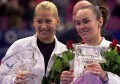 Martina and Anna Kournikova won the doubles final against Nicole Arendt and Manon Bollegraf.