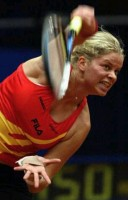 click for Kim Clijsters news photo search