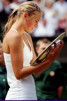 click for Sharapova news photo search