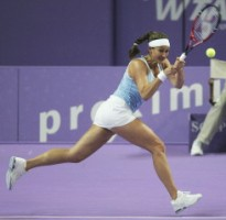 click for Mary Pierce French news photo search