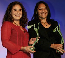click for WTA ITF Awards photo gallery