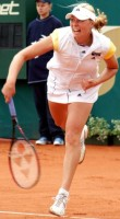 click for Warsaw tourney photo gallery Zvonareva pics