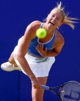 click for Sharapova news photo search