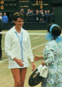 photo from Ladies of the Court by Virginia Wade