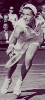 photo from The Encyclopedia of Tennis, edited by Max Robertson and Jack Kramer