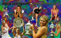 click for Sharapova wallpaper page