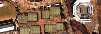 Yale University tennis courts, New Haven, Connecticut